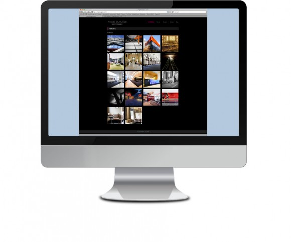 Photography Website design 2