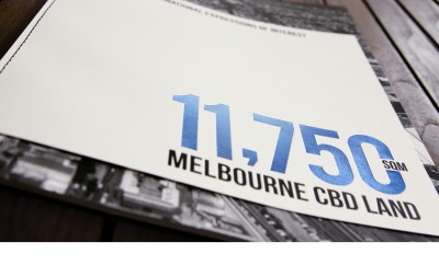 Brochure Designed for 565 Bourke Street
