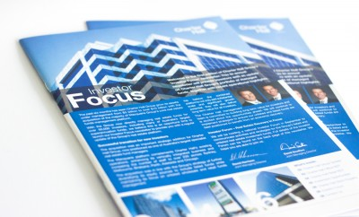 Newsletter Design - Investment Sector